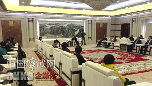 省十二届人大三次会议宁波代表团