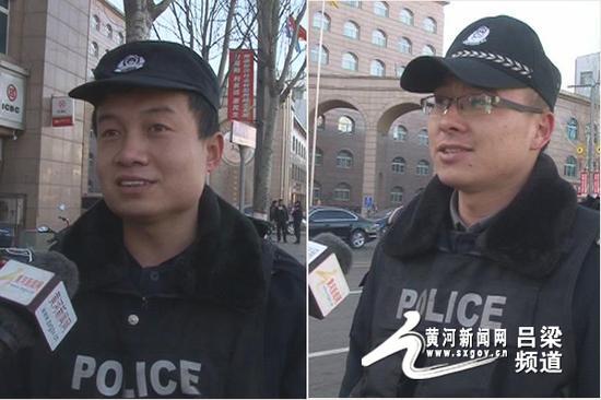 左为李涛 右为任春阳