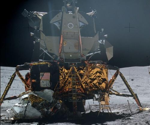 阿波罗16任务中的月球着陆器