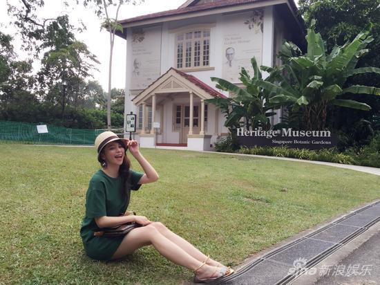 徐若瑄说新加坡植物园是她创作的隐秘后花园