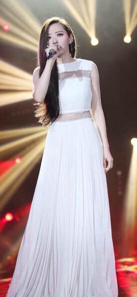 张靓颖在《我是歌手》中
