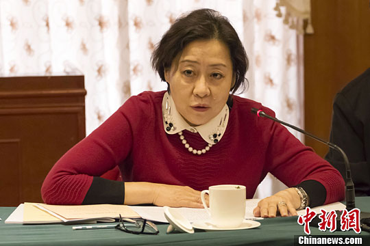 1月26日,刘亭出席政协第十一届广西壮族自治区委员会三次会议。中新社发 宋汉涛 摄