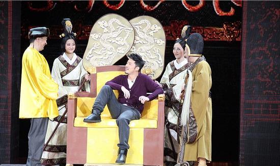 沙溢2012春晚 搭档黄宏