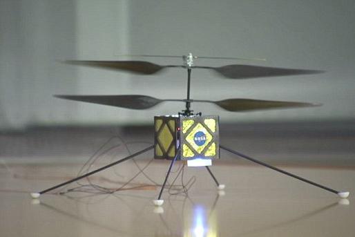 美研发火星直升机:利用太阳能在火星飞行