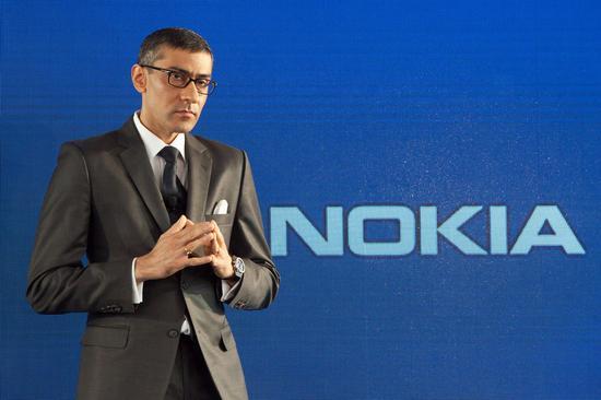 诺基亚CEO拉吉夫·苏里(Rajeev Suri)