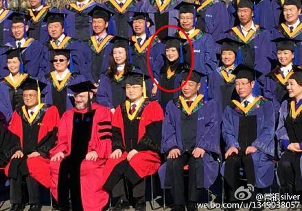 陈红毕业照