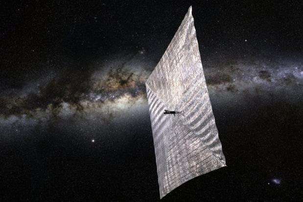 美民间组织欲测试太阳帆:借阳光在太空飞行