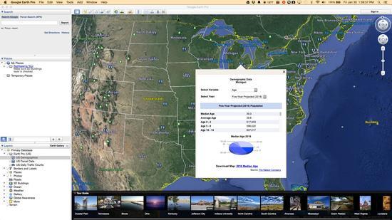 年费399美元的Google Earth Pro现在免费了