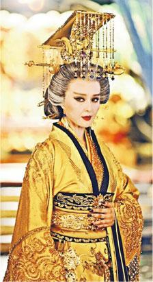 范冰冰主演的《武媚娘传奇》从年轻演到老,剧集收视持续高企,掀起热爆话题。