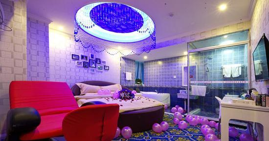 2015年情人节让爱v宾馆廊桥宾馆主题蕾丝为您情趣内衣视频走秀情趣图片