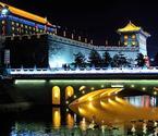 西安古城迷人夜景