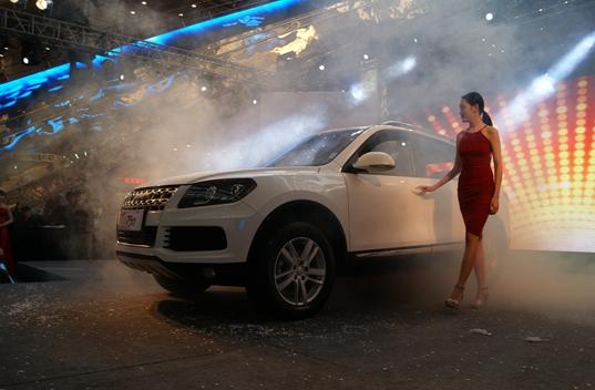野马汽车最新SUV车型T70成都上市高清图片