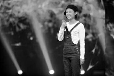 2014年10月李娜在《中国梦想秀》现场