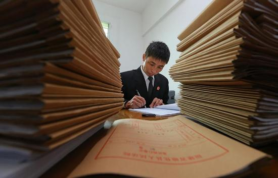 《泉州最偏远的乡村法庭》 王柏峰(东南早报)
