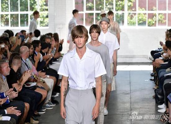 5 今年7月纽约迎来了首个独立男装周