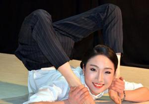 中国第一柔术美女