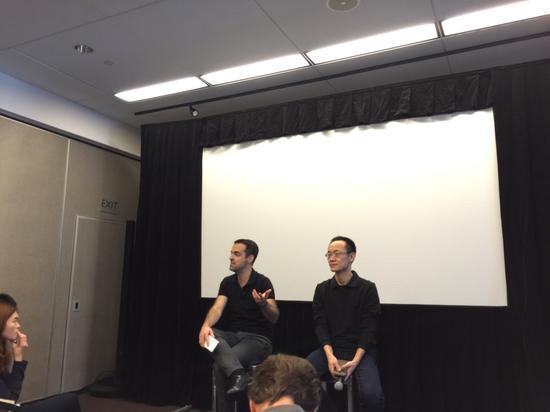 小米巴拉与林斌主持了旧金山媒体见面会