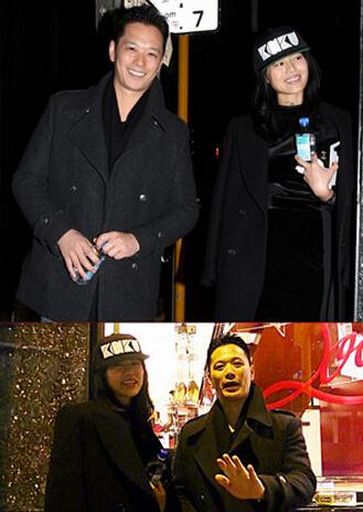 胡杏儿与男友现身香港街头