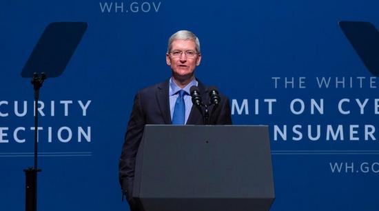 苹果CEO库克呼吁加强隐私保护
