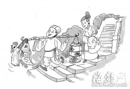福州特色风俗:女儿女婿春节前回娘家送年礼