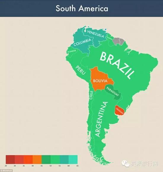 世界国家区���^�_最新世界幸福国家调查 结果太意外