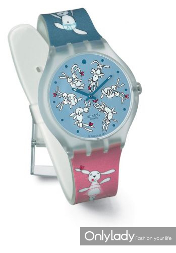 Swatch做爱兔春宫表