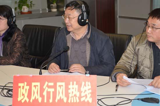 安徽省民政厅巡视员周苏率队参加《政风行风热