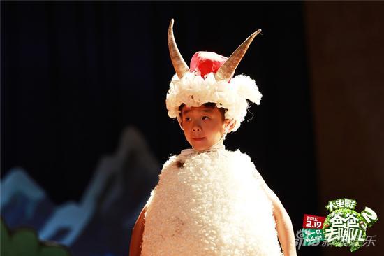 杨阳洋羊范十足