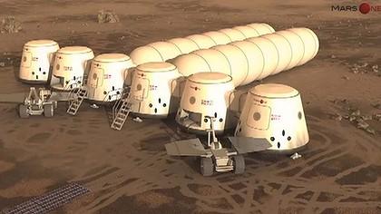 """""""火星一号""""(Mars One)是由荷兰私人公司主导的火星探索移民计划,目的是在火星建立永久殖民地,在全球招募志愿者"""