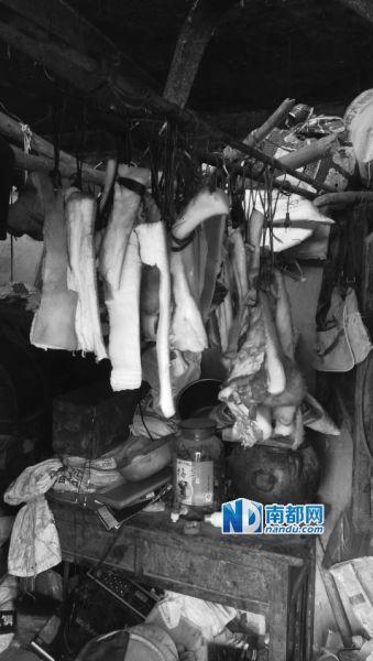 何家过年的腊肉,材料都是别人不要的肥肉。