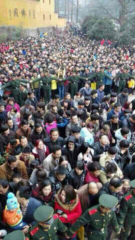正月初五九华山揽客9万多人次 创历史新高