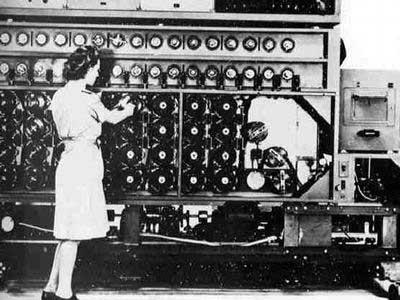 破译恩尼格玛密码的计算机