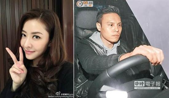 熊黛林与富二代男友郭可颂感情甜蜜,曾一同来台湾旅行