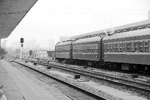 小焦在南京浦口火车站拍摄的文艺范照片(小焦供图)