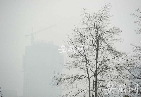 """合肥空气质量因""""开门炮""""由良转中度污染"""