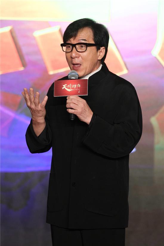 成龙谈电影《天将雄师》