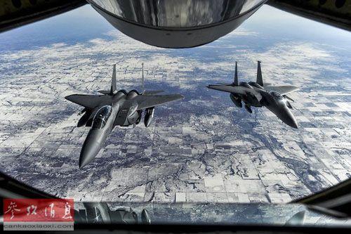 资料图:F-15战斗机