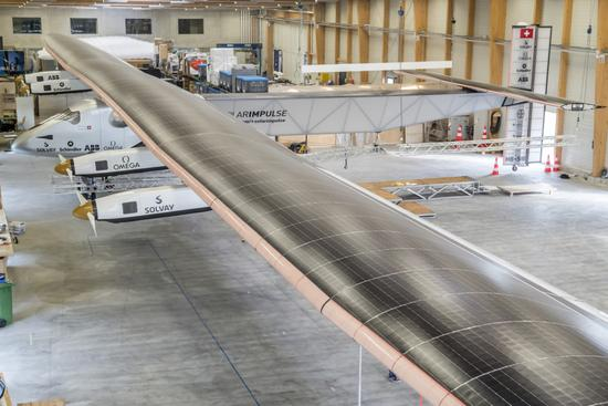Solar Impulse 2, which is the world's largest solar-powered aircraft