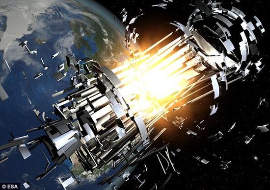 """根据美国空军航天司令部的消息,负责为卫星供电的子系统""""突然发生了急剧的温度升高""""。接着卫星的高度出现了""""难以挽救的失控"""",随后在卫星所在位置的附近能够看到残片——这说明卫星发生了局部或是彻底的爆炸。"""