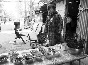 今年春节前,高永侠给一个豆脑摊做帮工