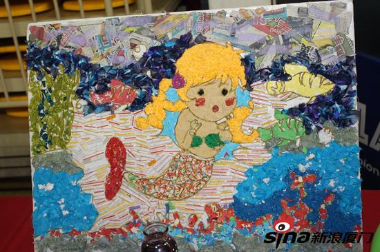 幼儿园公益图画作品