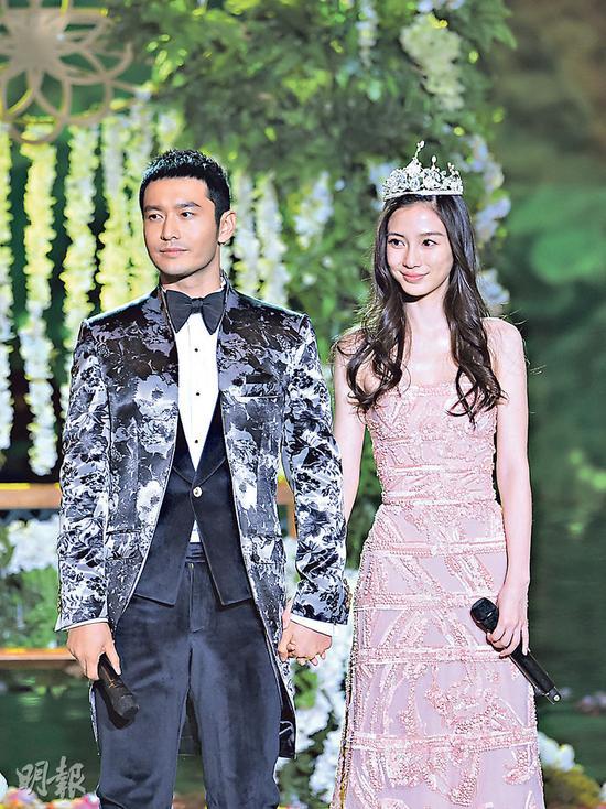 黄晓明向Angelababy派定心丸,表示今年内娶她。