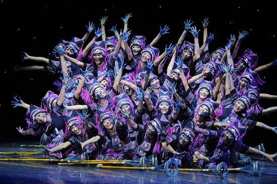 梧州学院舞蹈《打蓝靛》