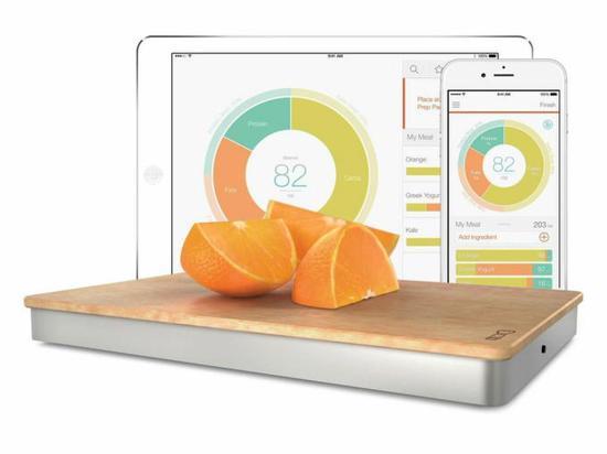 Prep Pad智能菜板:会分析食材成份的菜板 食材