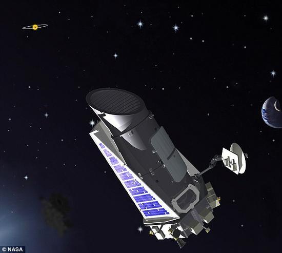 """迄今为止,天文学家尚未发现一颗系外卫星,但鉴于太阳系内8颗行星中有6颗拥有卫星,绝大多数天文学家认为发现系外卫星是一种""""必然""""。通过对美国宇航局的开普勒望远镜(如图)获取的数据进行分析,天文学家可能发现系外卫星"""