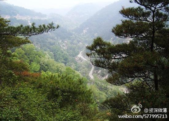 济南药山风景区