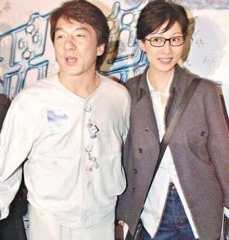 成龙和吴绮莉(资料图)