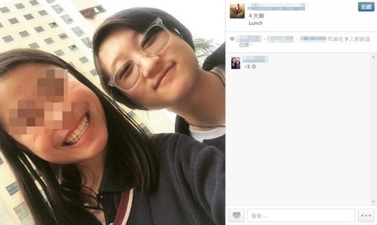 报案前一天,卓林在社交网上载与友人合照,从照片看,卓林当时心情并无异样