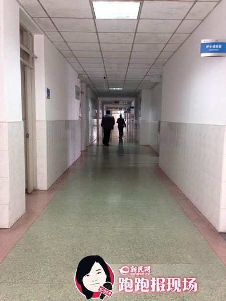 沪东江湾路411医院护工持刀伤人 护士长被刺2刀