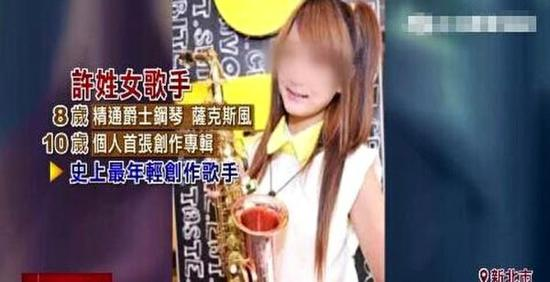 17岁许姓女星涉吸毒案